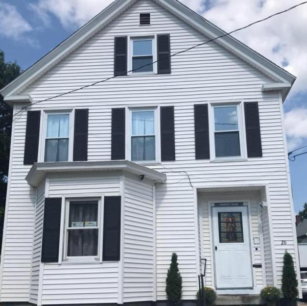 Prospect house certified sober living house for men in Keene NH