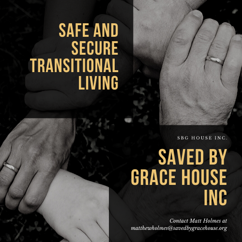 Saved By Grace House- Little Rock, Arkansas